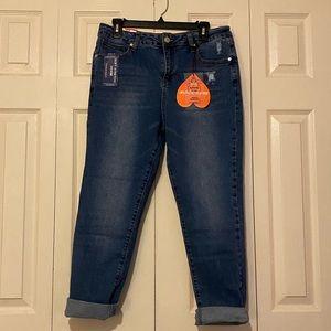 NWT Fashion Nova high rise girlfriend jeans sz 11